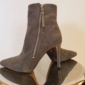Michael Kors suede leather booties